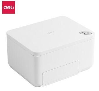 得力(deli)X10微型喷墨打印机智能便携照片证件打印机WiFi连接喷墨打印机 白色
